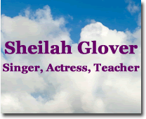 Sheilah Glover: Singer, Actress, Teacher